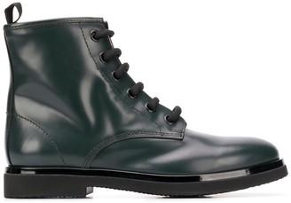 AGL Leather Biker Boots