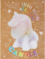 Accessorize Unicorn Colour Melting Candle