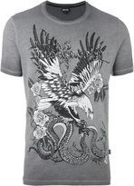 Just Cavalli eagle print T-shirt