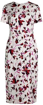 Diane von Furstenberg Inya Wild Floral Dress