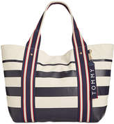 Tommy Hilfiger Classic Tommy Painted Stripe Extra-Large Tote