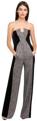 Black Halo Lena Color Block Jumpsuit