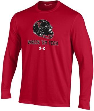 Men's Texas Tech Red Raiders Performance Cotton Shirt