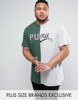 Puma PLUS Split Logo T-Shirt Exclusive To ASOS 57531201