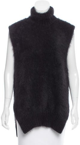 Celine Angora Turtleneck Sweater