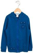 Little Marc Jacobs Girls' Embellished Zip-Up Sweatshirt