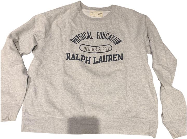 Denim & Supply Ralph Lauren Grey Cotton Knitwear & Sweatshirts