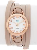 La Mer Women's Rose Gold Saturn Watch