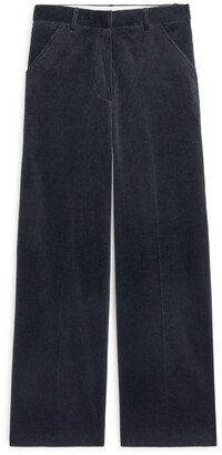 Arket Wide Corduroy Trousers