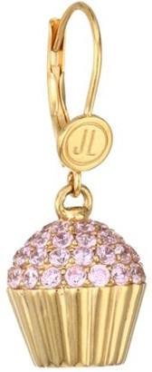 Judith Leiber 14K Goldplated Sterling Silver & Cubic Zirconia Cupcake Single Drop Earring