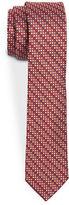 Michael Kors BOYS 8-20 Skinny Geometric Print Tie