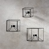 CB2 3-Piece Cubicle Wall Sconce Set