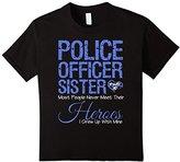 Police Officer Sister Shirt