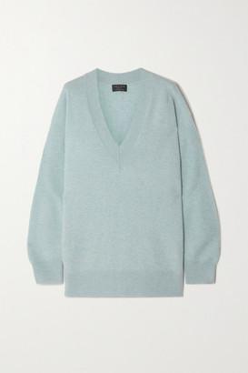 Rag & Bone Logan Cashmere Sweater - Blue