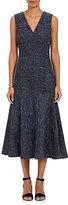 Derek Lam WOMEN'S SILK-BLEND SLUB SLEEVELESS DRESS