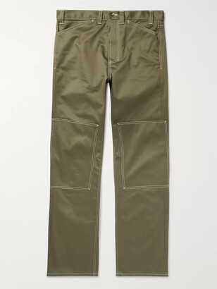 L.E.J Selvedge Cotton-Twill Trousers
