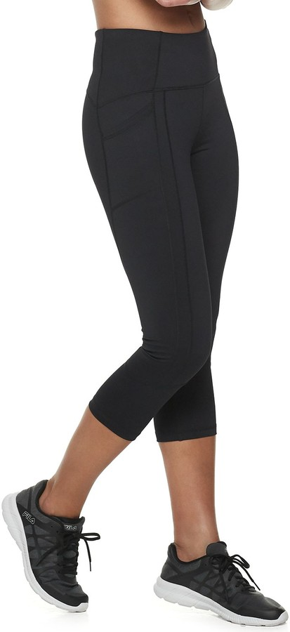 7cafb0b669257 Black Leggings With Side Pockets - ShopStyle