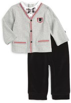 Little Me Infant Boy's Cardigan & Pants Set
