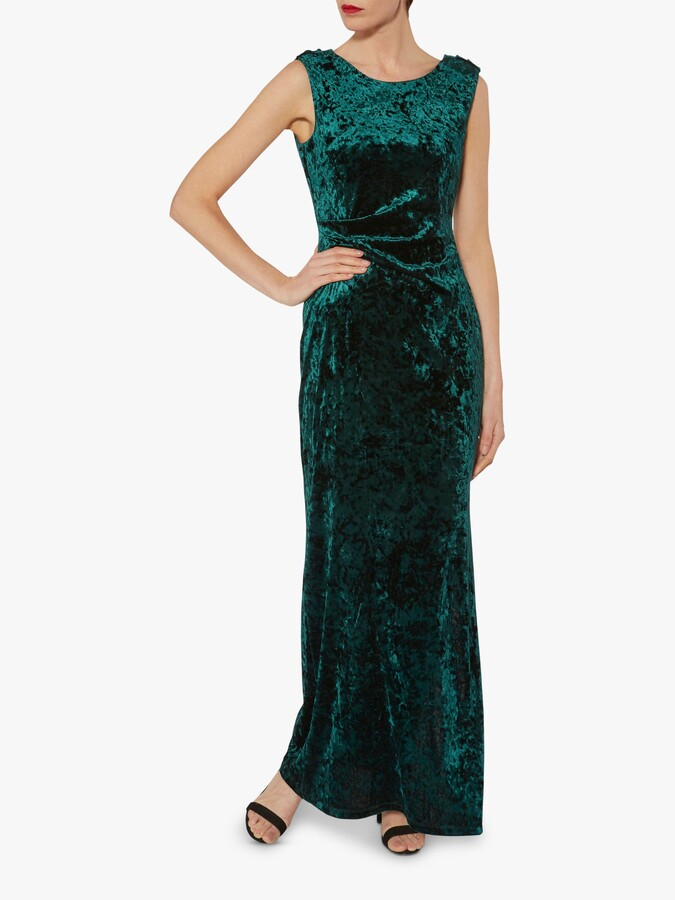 Thumbnail for your product : Gina Bacconi Anabelle Velvet Maxi Dress