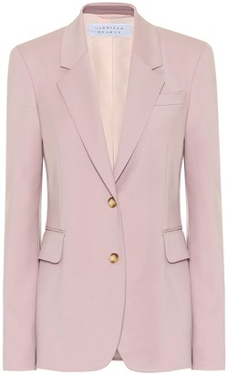 Gabriela Hearst Sophie stretch-wool blazer