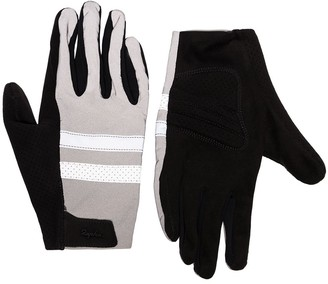 Rapha Brevet reflective jersey cycling gloves