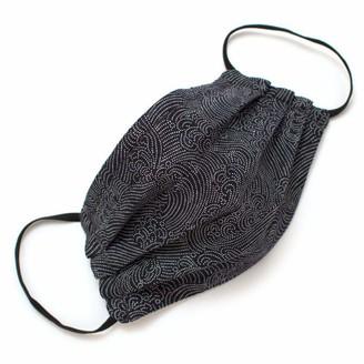 General Knot & Co Reusable Indigo Tidal Wave Face Mask