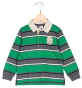 Moschino Boys' Striped Patch-Accented Shirt w/ Tags