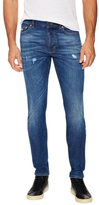 Givenchy Star Distressed Slim Fit Jeans