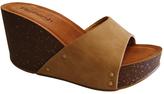 Refresh Taupe Mara Platform Sandal