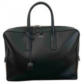 Saint Laurent Museum Black Leather Bags