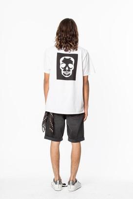 Zadig & Voltaire Ted Skull Block T-Shirt