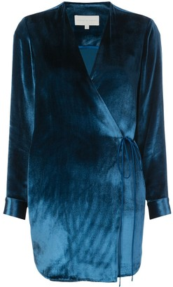Mason by Michelle Mason Wrap Style Dress