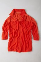 Anthropologie Twin Pocket Pullover