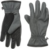 URBAN RESEARCH U|R Men's Bowden Gathered-Wrist Touchscreen Glove