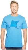 Life is Good LIG Sting Ray Crusher Tee Men's T Shirt
