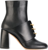 RED Valentino horseshoe ring front boots