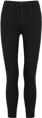 J Brand Alana black skinny jeans