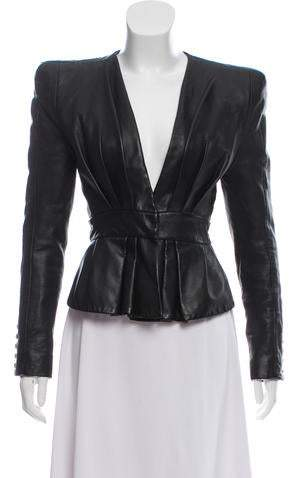 2e3bc635 Balmain Leather Jackets For Women - ShopStyle Australia