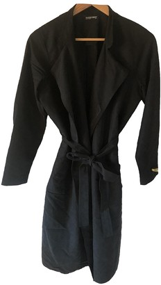 American Apparel Black Trench Coat for Women