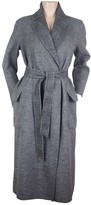 Max Mara Anthracite Wool Coats