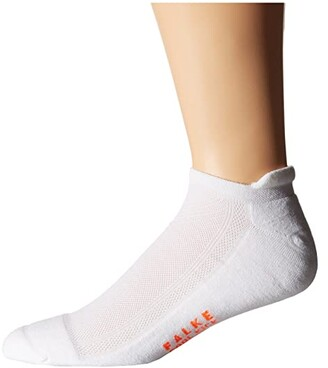 Falke Cool Kick Sneaker Socks (White) Men's No Show Socks Shoes