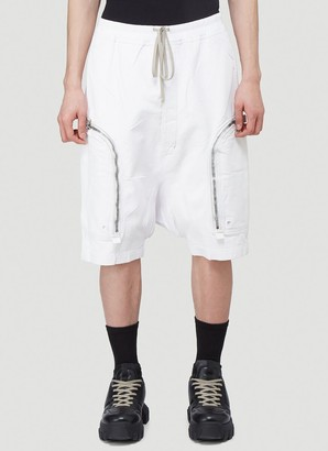 Rick Owens Zipped Pocket Shorts