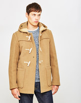 Gloverall Mid Monty Coat Camel