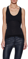 Superfine Scoopneck Sleeveless Top
