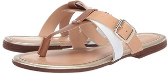 Massimo Matteo Thong with Straps 19 (Bark) Women's Slide Shoes