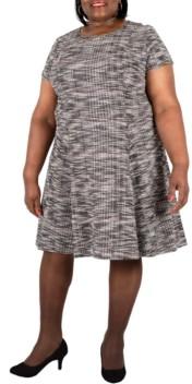 Robbie Bee Plus Size Boucle Dress