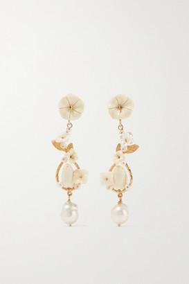 OF RARE ORIGIN Starling Gold Vermeil Multi-stone Earrings