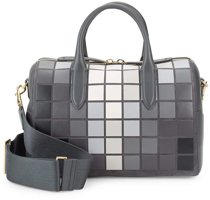 Anya Hindmarch Women's Vere Giant Pixel Leather Barrel Bag