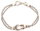 Tiffany & Co. Sterling Silver Knotted Love Rope Bracelet