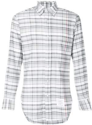 Thom Browne Large Multi-Repp Check Oxford Shirt